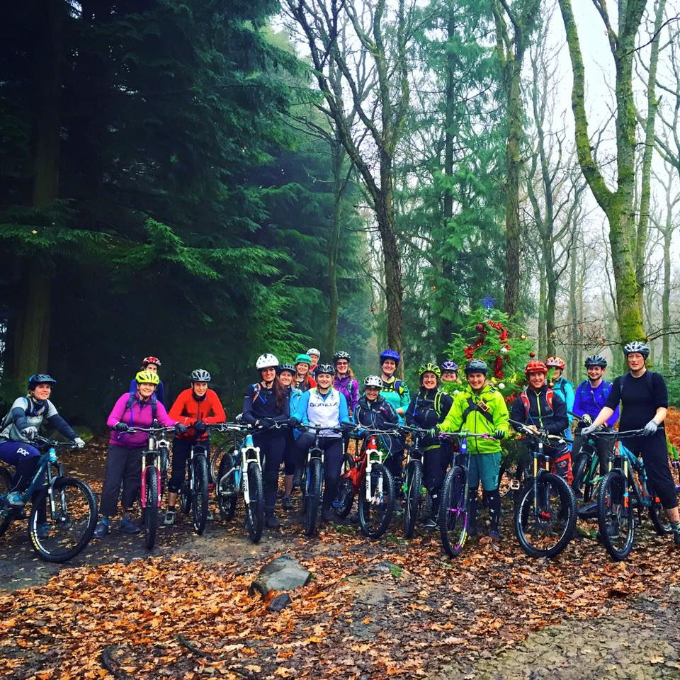 Hopetech Women's Ride; Forest of Dean